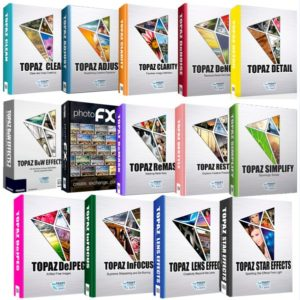 Topaz Photoshop Plugins Bundle Nov.2017 For Windows