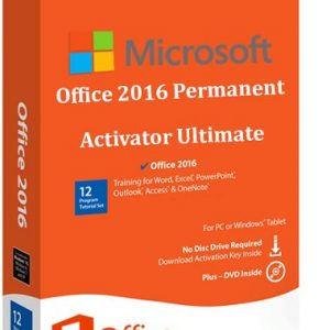 Microsoft Office 2016 Permanent Activator Ultimate 1.7