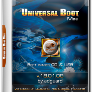 Universal-boot (mini) bootable images 18.01.09