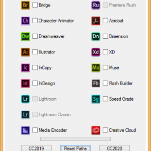GENP - Adobe Cc 2019-2020 All Products Universal Activator For Windows