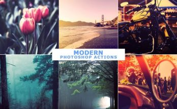 40 Modern Photoshop Actions 1