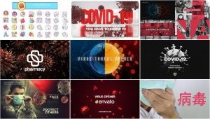 9 Projects from VideoHive for After Effects [Covid-19]